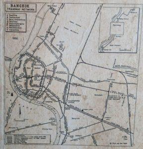 トラムの路線図