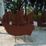 タイ船舶博物館はアユタヤにあります。長崎までは50日ほどで到着予定