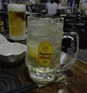 ハイボールとビール