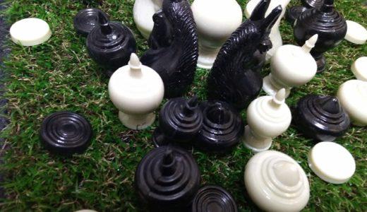 タイ将棋のマークルックはお坊さんの嗜みです。植物だって動員します!